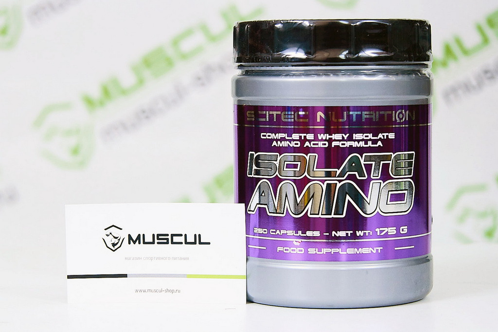 ISOLATE AMINO от Scitec Nutrition