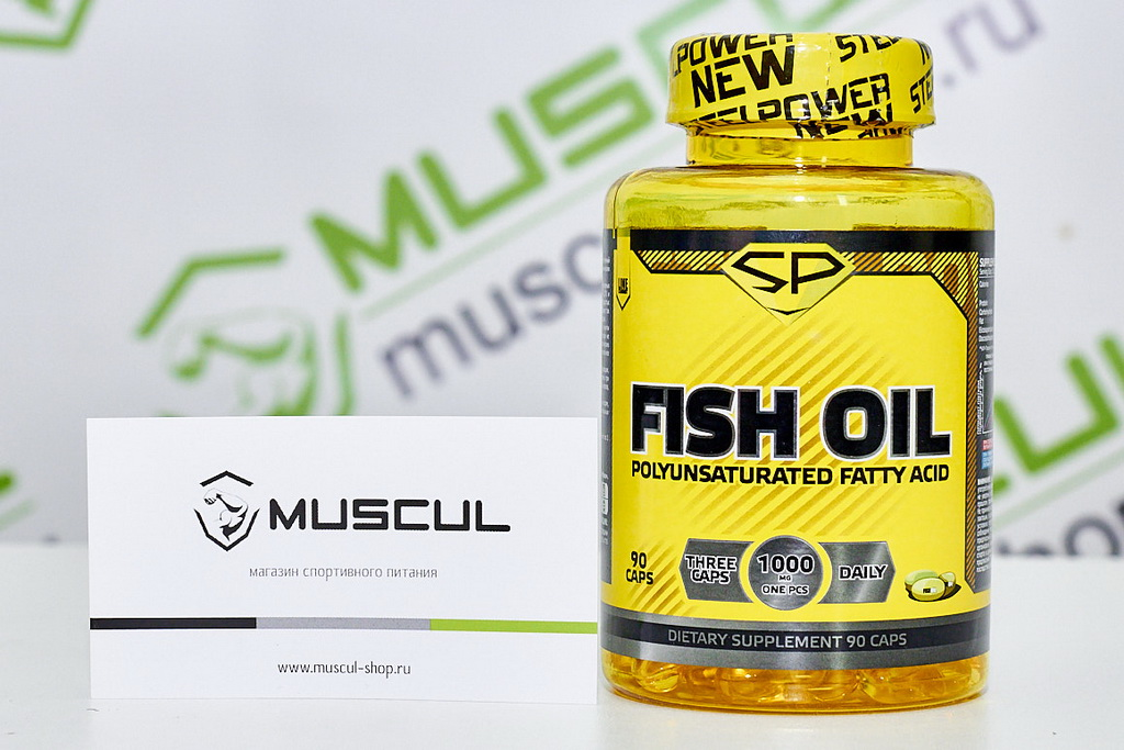 Fish Oil от Steel Power