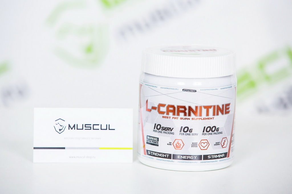 L-carnitine от King Protein
