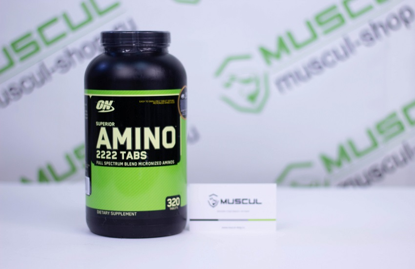 Аминокислоты Optimum Nutrition Super Amino 2222